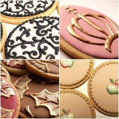 Wedding cookies by Sweet Ambs