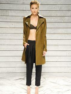Katie Holmes' Fashion Week Debut.