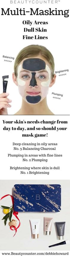 Multi-Masking for your changing skin!! Www.beautycounter.com/kristenabouzahra