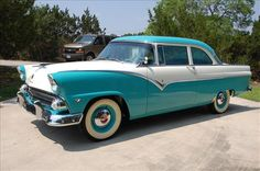 """1955 Ford Crown Victoria 2-Door.. I take it that this is not the """"Police Interceptor"""" model :)"""