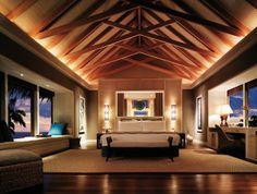 Shangri La's Villingili Resort And Spa, Maldives Lofts, Villas, Maldives Luxury Resorts, Water Villa, Shangri La Hotel, Interior Design Companies, Luxurious Bedrooms, Luxury Bedrooms, Master Bedrooms