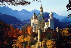 Deutschland ~ Schloss Neuschwanstein   Flickr - Photo Sharing!