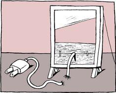 """Ready to Cut the Cord?"" @Matty Chuah New York Times"