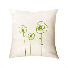 DIY pillow cover @Claire Griffin how pretty??