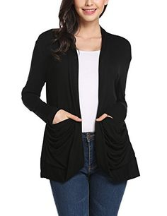 ba9cae3199 2017 Fall New Cashmere Cardigan Female Medium-long Wool Sweater Loose Long-sleeve  Sweater Women Wave Cardigan Jacket