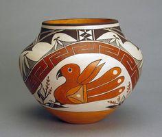 contemporary beautiful native american art | Home  Collections  Pueblo Pottery  Contemporary Pueblo Pottery ...