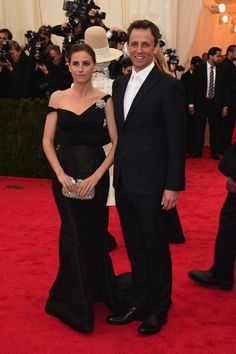 Alexi Ashe Meyers looked elegant in a Forevermark brooch, ring, and Forevermark by Leo Schachter studs at the 2014 Met Gala.   www.goldcasters.com