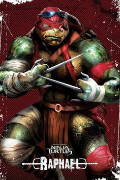 Teenage Mutant Ninja Turtles - Raphael Pose - Official Poster