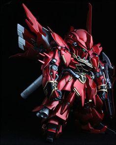 [SD Gundam] SD Sinanju (Built by Ti 0719)