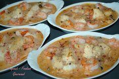 Cassolettes de la mer - DSC_3251_11445 Fish Recipes, Seafood Recipes, Crockpot Recipes, Soup Recipes, French Cooking Recipes, Fish And Seafood, Healthy Smoothies, Summer Recipes, Entrees