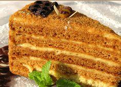 Торт-медовик на сковороде