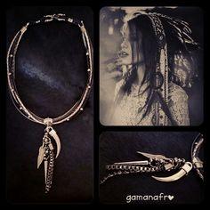 Apache in black & silver