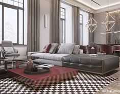 Aesthetic solution into classic architectural space. on Behance Classical Architecture, Interior Architecture, Aesthetic Solutions, Behance, Paris Apartments, Interior Design Studio, Contemporary Bedroom, Master Bedroom, House Design