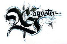 TreCal - Tremble Calligraphy by Irinel Papuc - TYPOMONGER, via Behance