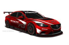 Mazda 6 Skyactiv-D GX - Japanese manufacturer Mazda is set to make history next month at the Daytona International Speedway which will be the first ever diesel car to compete in the Rolex 24 Mazda6, Diesel Cars, Diesel Fuel, Diesel Engine, Need For Speed, Motocross, Pinewood Derby Cars, Ford Fairlane, Sports Sedan