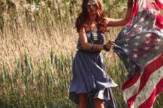 Plaid - Drap de plage en drapeau américain