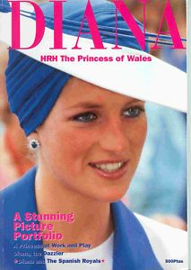 Princess Diana THE PICTURE PORTFOLIO BOOKLET GLOSSY MAGAZINE PHOTO BOOKLET