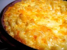 Patti LaBelle's decadent Mac n cheese recipe with 5 cheeses, lobster, and crab. This sounds fabulous!