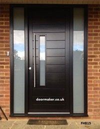 Contemporaryfrontdoor Fhb15 Black Modern Entrance Door, Modern Front Door, Front  Door Design