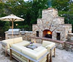 Patio design ideas with fireplace home design ideas patio fireplace backyard inspiration outdoor patio fireplace design ideas Outdoor Areas, Outdoor Rooms, Outdoor Living, Outdoor Furniture Sets, Outdoor Decor, Outdoor Kitchens, Rustic Furniture, Coastal Furniture, Antique Furniture
