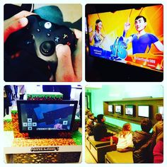 Area de #gaming en el Microsoft Visitor Center. #microsoft #xboxone #xbox #gamers