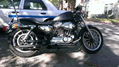 Latest pics of my 97 sportster. Still deciding on ehaust style and type. Hd Sportster, Harley Davidson Sportster 1200, Photography Gallery, Latest Pics, Motorcycle, Bike, Vehicles, Galleries, Style