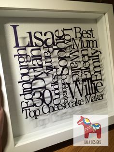 Word Art Papercut. Cut from a single piece of paper using a scalpel
