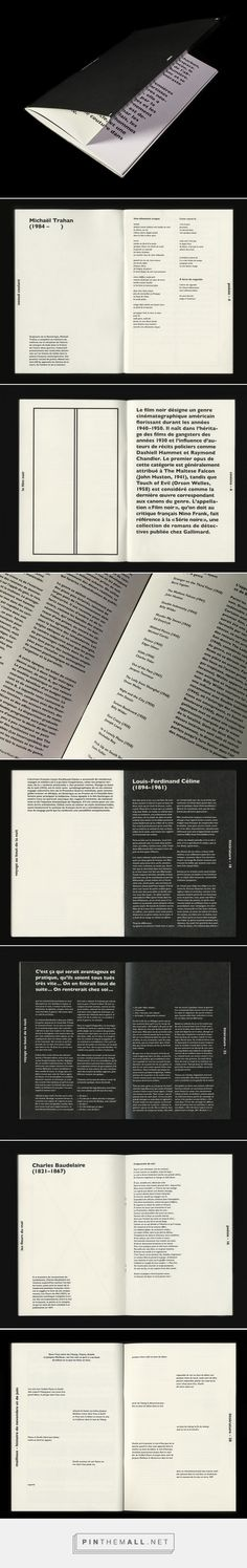 Noir / Black on Behance... - a grouped images picture - Pin Them All