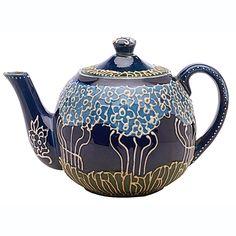 Avon Faience teapot