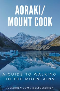 Mount Cook, New Zealand Travel, Hiking, Posts, Explore, Mountains, Places, Happy, Blog