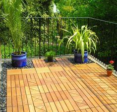 revêtement sol extérieur: le bois est un choix impeccable