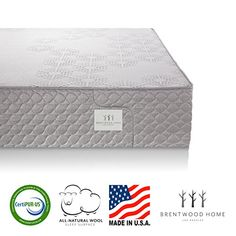Special Offers - Brentwood Home S-Bed 11-Inch Organic Latex and Gel Memory Foam Mattress CertiPUR-US Made in USA 25 Year Warranty Natural Wool Layer Plush Twin Size - In stock & Free Shipping. You can save more money! Check It (August 07 2016 at 11:17PM) >> http://adjustablebedusa.net/brentwood-home-s-bed-11-inch-organic-latex-and-gel-memory-foam-mattress-certipur-us-made-in-usa-25-year-warranty-natural-wool-layer-plush-twin-size/