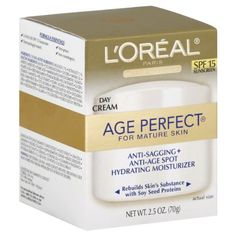 day cream L'oreal Age Perfect Day Cream SPF 15 Facial Treatment Products - ** Details can be found by clicking on the image. Body Cleanser, Perfect Day, Perfect Eyes, How To Get Rid Of Acne, Facial Treatment, L'oréal Paris, Health And Beauty Tips, Loreal