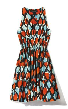 Shop Thakoon Diagonal Check Printed Poplin Dress at Moda Operandi