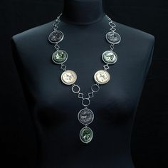 10 Jewelry ideas made from recycled Nespresso Capsules in jewelry with Recycled Nespresso Jewels Jewelry