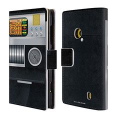Official Star Trek Tricorder Gadgets Leather Book Wallet Case Cover For Nokia Lumia 520  525 >>> See this great product. (Note:Amazon affiliate link)