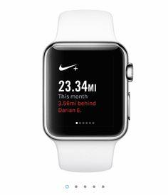 Nike Running app for Apple Watch