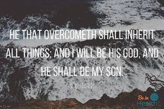 We are not called to overcome in spite of sin, we are called to overcome the sin.