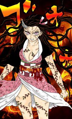 Nezuko Chapter 83 - Kimetsu no Yaiba manga Manga Anime, Fanarts Anime, Anime Demon, Manga Girl, Anime Art, Demon Slayer, Slayer Anime, Top 10 Best Anime, Good Anime Series