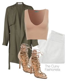 """""""Untitled #622"""" by thecurvyfashionista ❤ liked on Polyvore featuring Nobody Denim and Schutz"""