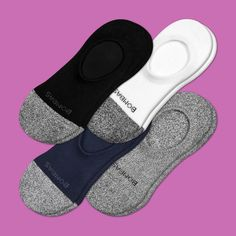 Women's Cushioned No Shows 4-Pack – Bombas