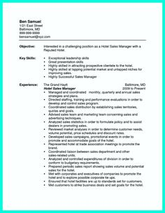 awesome attractive but simple catering manager resume tricks check more at http