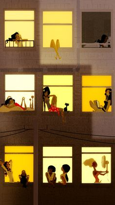 Hot Night in The City by PascalCampion.deviantart.com on @deviantART