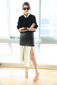 Lesson in Layering, Meet Make an Old Dress New Again | Man Repeller