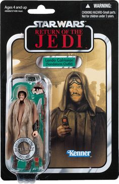 Star Wars - The Vintage Collection #89 - Lando Calrissian (Sandstorm Outfit)