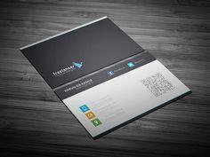 Clean & Creative Business Card PSD