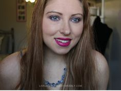 Easy-To-Do Elsa Makeup Tutorial.  Wearable purple and pink makeup. #tutorial #videotutorial #easymakeup