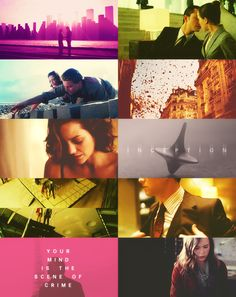 Inception, love this movie