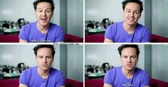 You can literally see the moment he reverts to Moriarty. I may or may not have fangirl squealed..... The video was amazing!