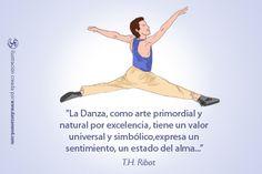 La danza es la viva representación del alma. #FraseDanzaEnRed